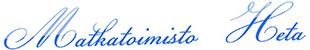 Matkatoimisto Heta logo